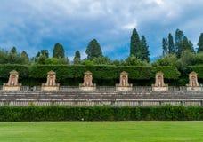 意大利,佛罗伦萨, Boboli庭院 库存照片