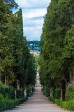 意大利,佛罗伦萨, Boboli庭院 免版税库存照片