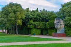 意大利,佛罗伦萨, Boboli庭院 免版税库存图片