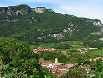 意大利,名护Torbole 免版税库存图片