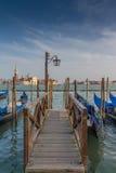 意大利,威尼斯码头 库存图片