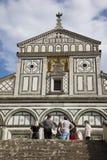 意大利,托斯卡纳,佛罗伦萨,圣米尼亚托教会 免版税库存图片