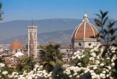 意大利,托斯卡纳,春天的佛罗伦萨 免版税图库摄影
