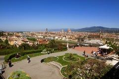 意大利,托斯卡纳,春天的佛罗伦萨 免版税库存图片