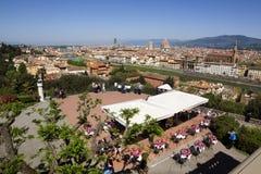 意大利,托斯卡纳,春天的佛罗伦萨 免版税库存照片