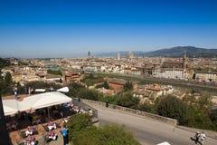 意大利,托斯卡纳,春天的佛罗伦萨 库存图片