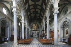 意大利,托斯卡纳,科尔托纳,大教堂 免版税库存照片