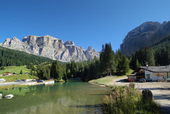 意大利,特伦托自治省,白云岩 免版税图库摄影