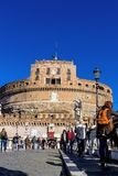 意大利,罗马, castel sant'angelo 库存照片