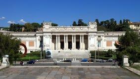 意大利,罗马:现代艺术国家肖像馆  免版税库存图片