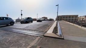 意大利,西西里岛,西勒鸠斯老镇,桥梁欧洲 影视素材