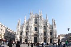 意大利, Mariae Nascenti,米兰大教堂 免版税库存照片