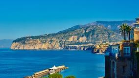 意大利索伦托 欧洲手段 免版税图库摄影