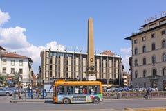 意大利 佛罗伦萨 城市街道看法  库存照片