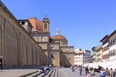 意大利 佛罗伦萨 街道Veiw  免版税图库摄影