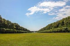 意大利-卡塞尔塔, Parco della Reggia 免版税库存图片