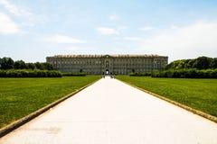 意大利-卡塞尔塔, Parco della Reggia 免版税图库摄影