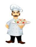 意大利主厨 库存例证