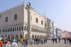 意大利 威尼斯 共和国总督宫殿s 库存照片