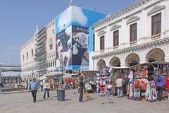 意大利 威尼斯 共和国总督宫殿s 库存图片