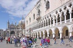 意大利 威尼斯 共和国总督宫殿s 图库摄影