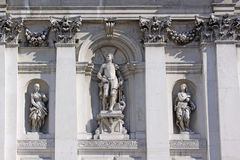 意大利 威尼斯 圣玛丽亚della致敬大教堂  详细资料 库存图片