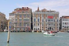 意大利 威尼斯 城市视图 大运河 免版税库存图片