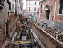 意大利 威尼斯 城市视图 chanels修理 免版税库存照片