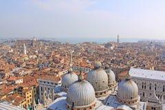 意大利 威尼斯 大教堂标记s st 圆顶 免版税库存图片
