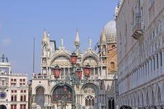 意大利 威尼斯 大教堂标记s st 库存照片