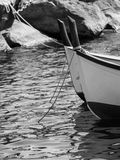 意大利2017条小船 库存照片