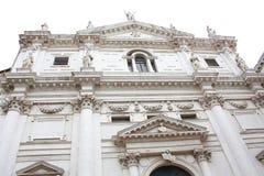 意大利建筑学威尼斯,意大利 图库摄影