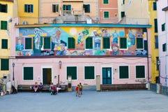 意大利绘画 免版税库存照片