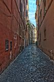 意大利 Trastevere街道在罗马 意大利 免版税库存照片