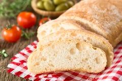 意大利ciabatta面包 库存照片