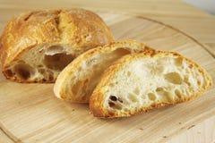 意大利ciabatta面包 免版税库存照片