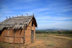 意大利etruscan住宅,在Piombino附近的Populonia 库存图片