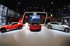 意大利Ferrari亭子 免版税图库摄影