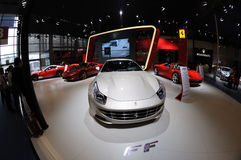 意大利Ferrari亭子 图库摄影