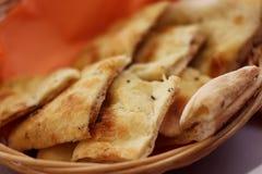 意大利focaccia面包 免版税库存图片