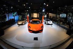 意大利Lamborghini亭子 免版税库存照片