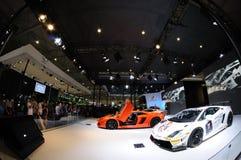 意大利Lamborghini亭子 库存照片