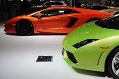 意大利Lamborghini 库存照片