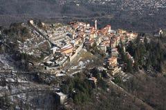 意大利lombardia monte sacro瓦雷泽 库存照片
