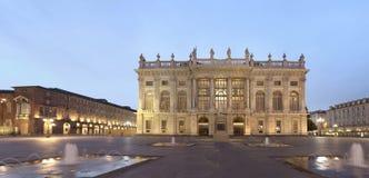 意大利madama palazzo都灵 免版税图库摄影