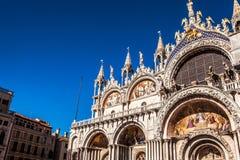 意大利marco广场圣・威尼斯 免版税库存照片
