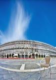 意大利marco早晨广场圣・威尼斯 库存图片
