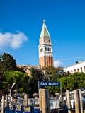 意大利marco端口圣・威尼斯 免版税库存照片