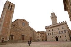 意大利montepulciano托斯卡纳 免版税库存图片