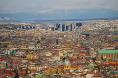 意大利napoli 免版税图库摄影